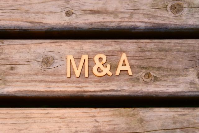 M&A 事業を売却